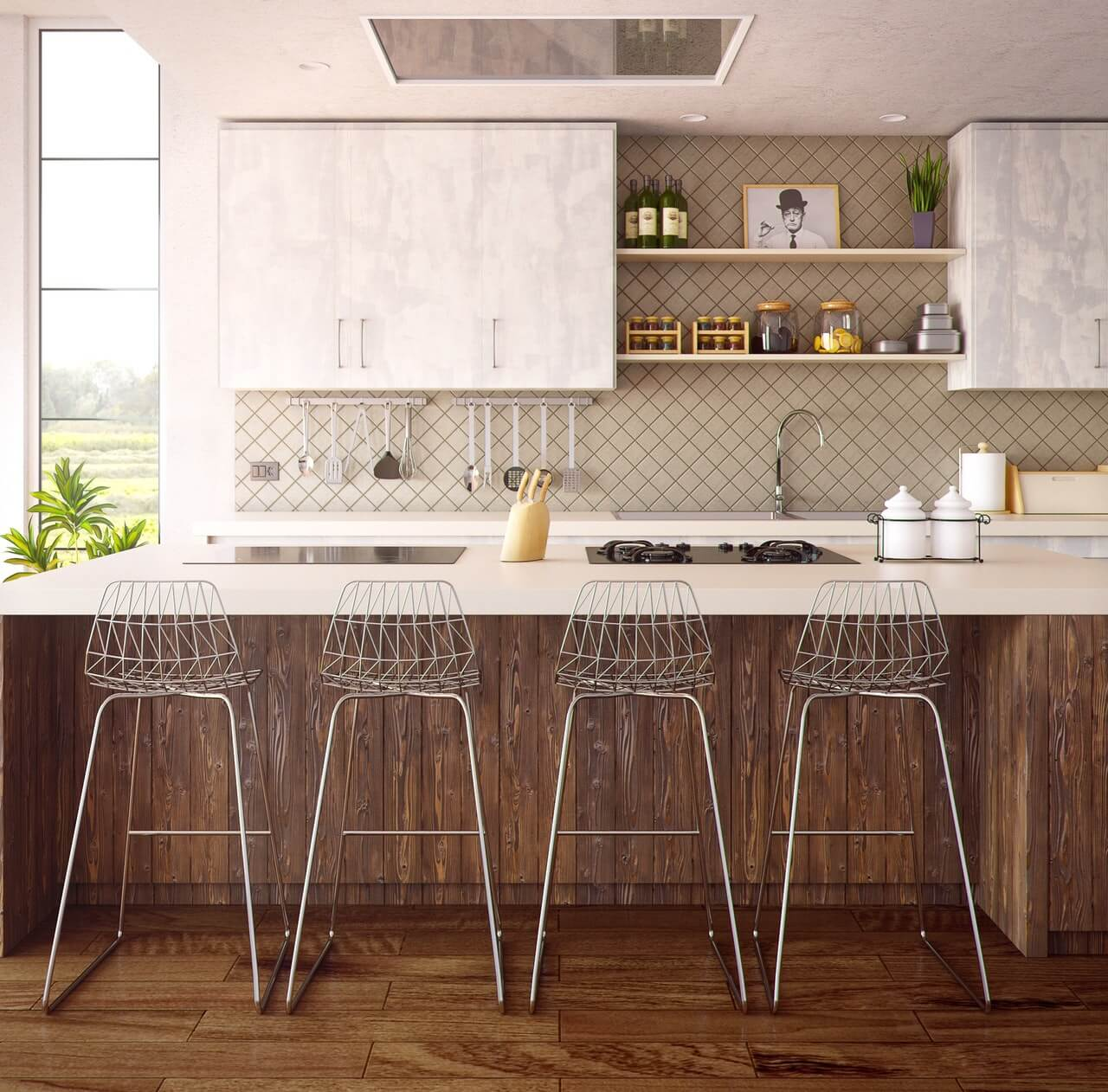 Płytki do kuchni nowoczesnej