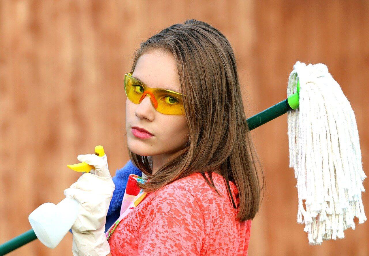 Sprzątanie domu w czasach epidemii